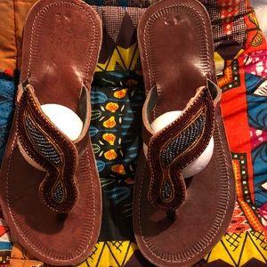 African Masaai Sandal